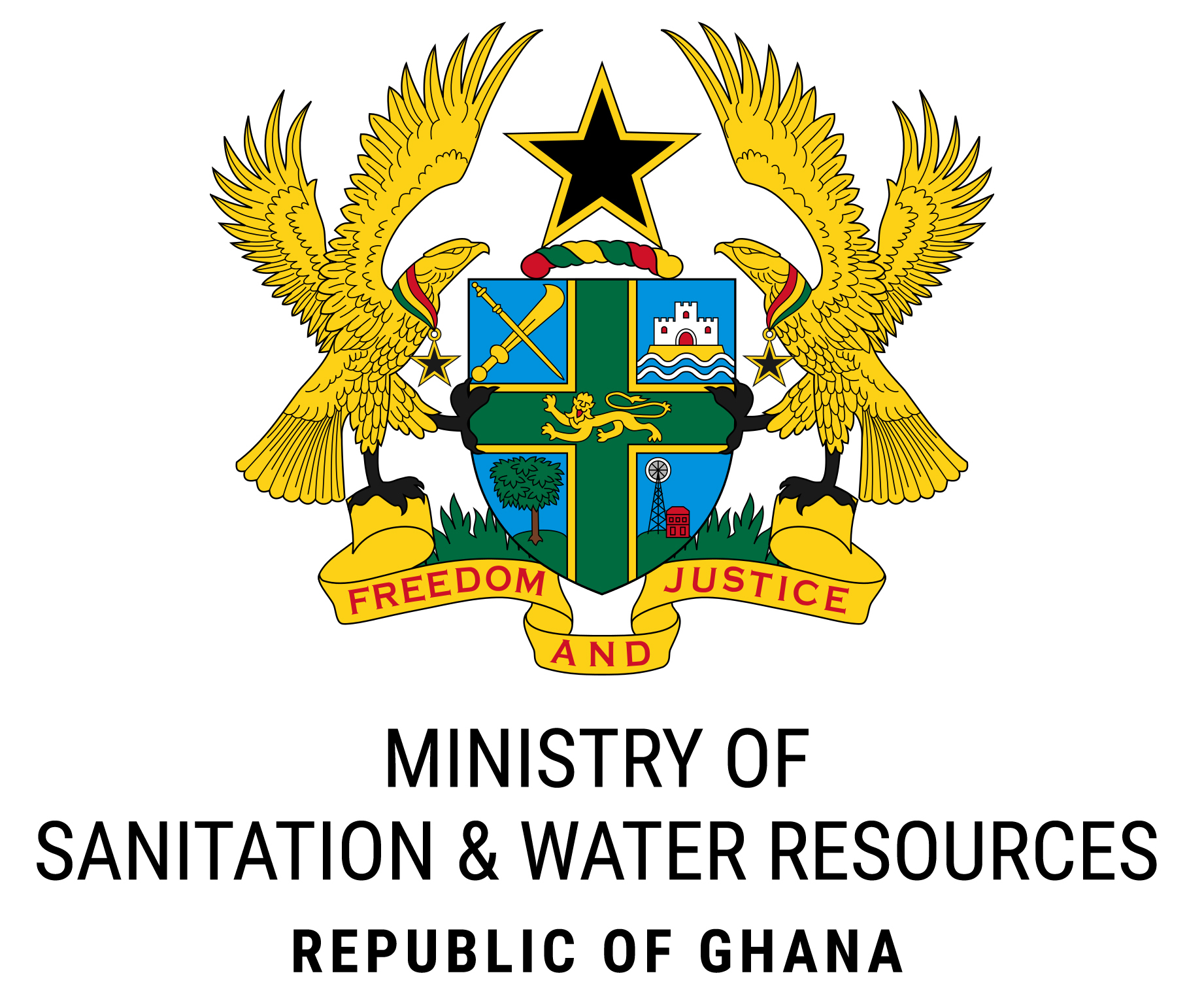 Mswr Gh 1200Px Coat Of Arms Of Ghana