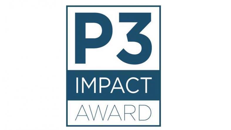 P3 Logo Canvas